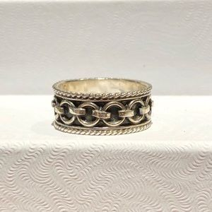 Jewelry - Equestrian silver 925 ring